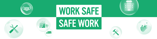 ECA backs Work Safe. Safe Work campaign