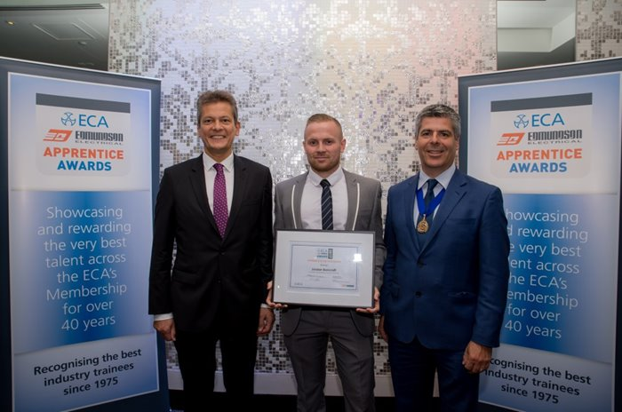 Leading apprentice wins 2017 ECA Edmundson Award