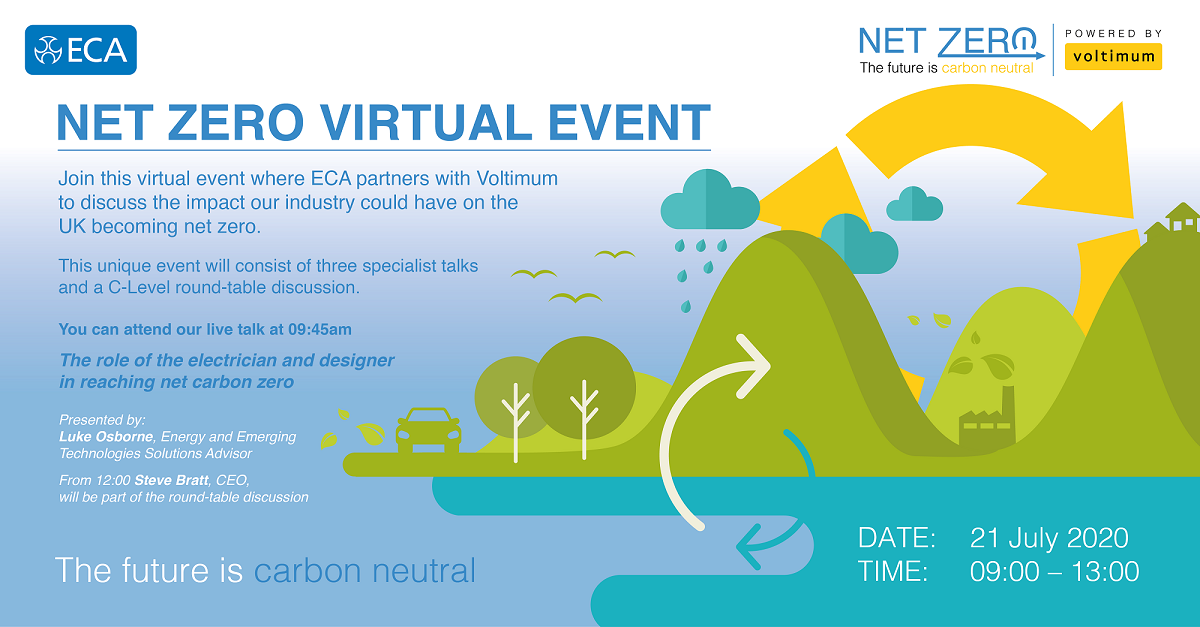 Net Zero - Virtual Event, hosted by Voltimum