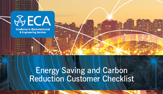 Energy saving and carbon reduction customer checklist