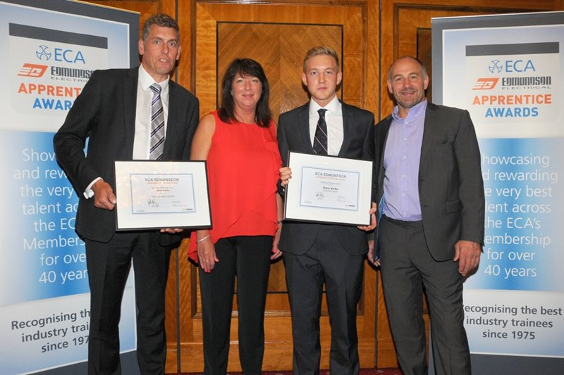 Winning 'Apprentice of the Year'