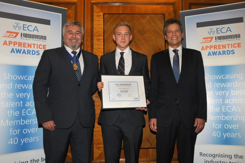 ECA Edmundson Electrical Awards - Apprentice of the Year 2016
