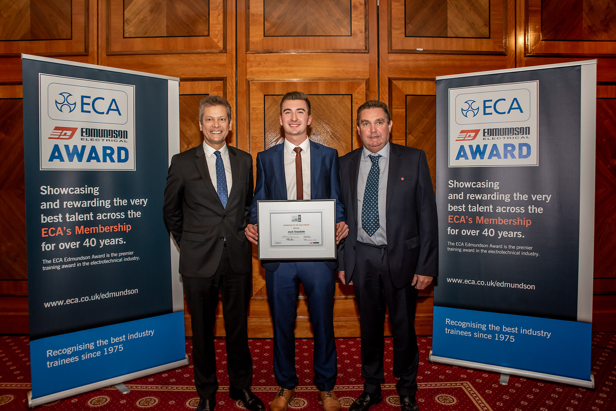 2018 Apprentice of the Year Jack Teasdale on his year so far