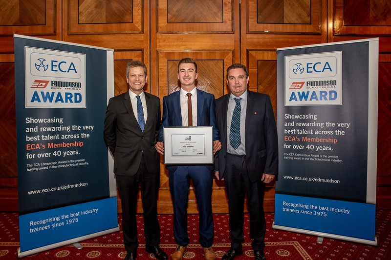 Leading apprentice wins 2018 ECA Edmundson Award