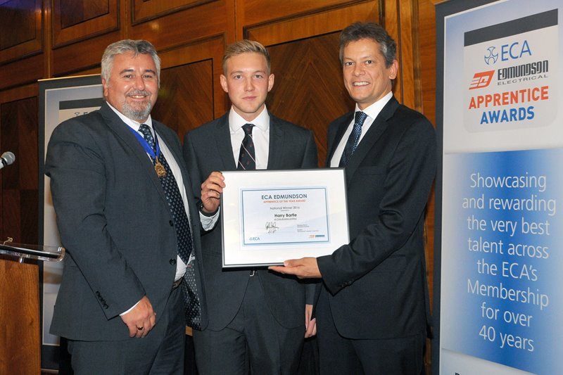 Top Apprentice wins 2016 ECA Edmundson Award