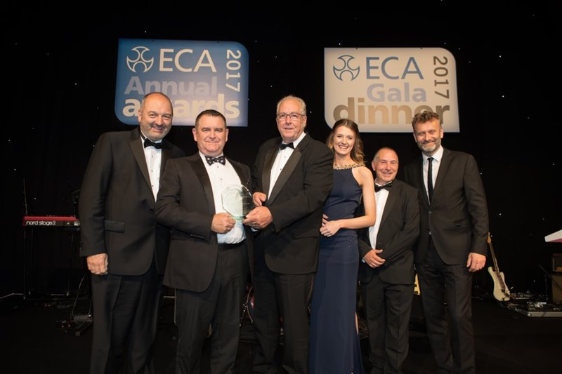 ECA Best Health and Safety Initiative Award 2017 (sponsored by Electrical Safety First)