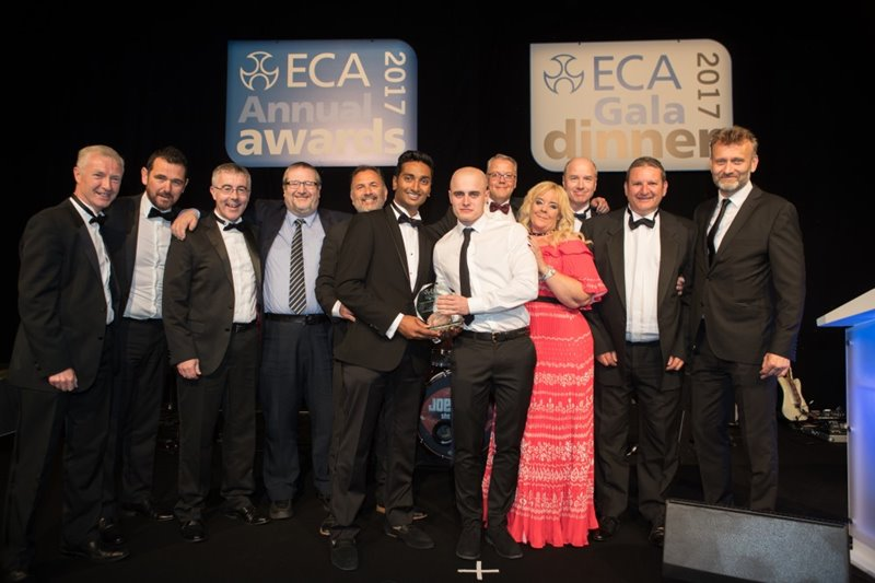 ECA Large Contractor of the Year Award 2017 (sponsored by Schneider)