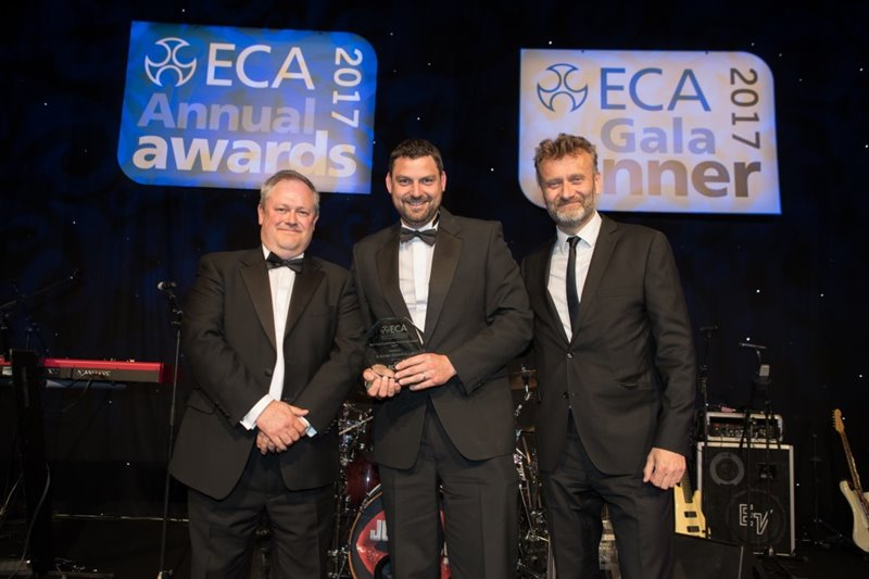 ECA Best Client/ Contractor Partnership Award 2017 (sponsored by ECIC)